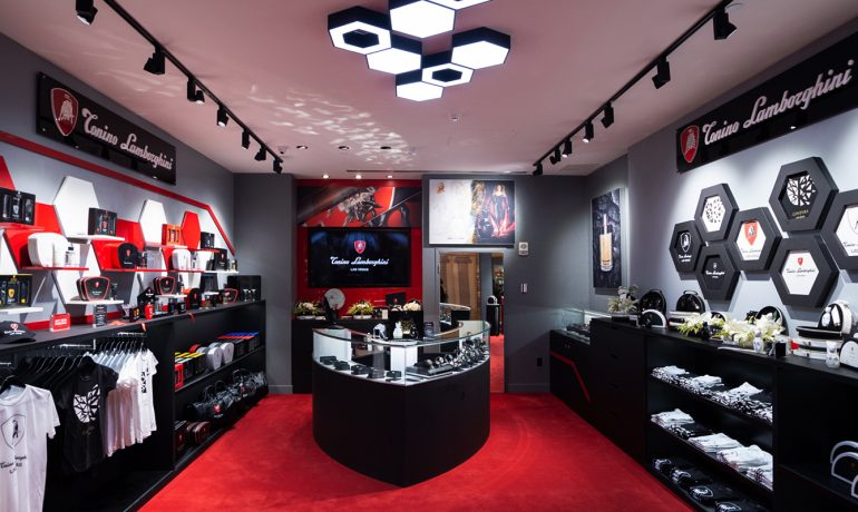 Tonino Lamborghini opens its first monobrand store in Las Vegas and presents Ginevra, new female fragrance